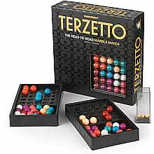 Terzetto.  Abstract strategy game.  Looks fun