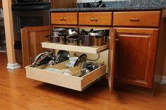 ShelfGenie Base Cabinet Solutions - Kitchen Cabinets - Los Angeles - ShelfGenie of Palm Springs/ Redlands
