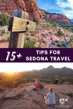 15+ Sedona Travel Tips...Everything You Need for Planning Your Trip to Sedona, Arizona | Sedona is an amazing place to visit, and these tips can help your trip be less stressful & more enjoyable. From driving tips to cell service, staying healthy, restaurant reservations, getting the best photo lighting, & so much more. #sedona #arizona #traveltips Solo Travel, Travel Usa, Travel Tips, Travel Hacks, Travel Guides, Arizona Travel, Sedona Arizona, Us Travel Destinations, Places To Travel