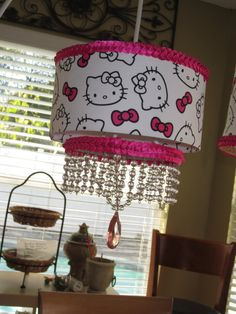 Hey, I found this really awesome Etsy listing at https://www.etsy.com/listing/125619145/hello-kitty-chandelier