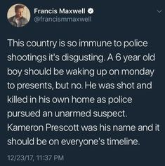 "IF you think the Police are meant to ""Protect"" and ""Serve"" the public than you're more have than a child stumbling upon sex."