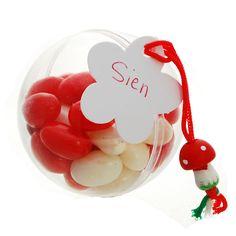 Plexibol-met-Jellybeans als doopsuiker voor de kindjes