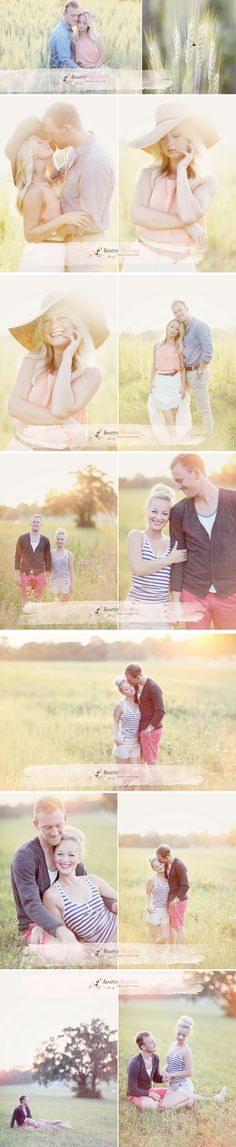 Gorgeous engagement session by Simply Bloom Photography.