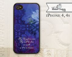 iPhone 4 cell phone case Christian art  by LilStinkerDesign, $19.95