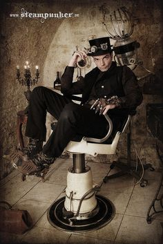 Steampunk guy