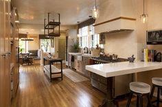 amazing modern kitchen but warm
