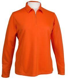 Ladies Long Sleeve Golf Shirt by Bermuda Sands Apparel - Madison.  Buy it @ ReadyGolf.com Bermuda Sands, Womens Golf Shirts, Ladies Golf, Lady, Long Sleeve, Fitness, Jackets, Style, Fashion