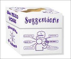 Suggestion Box Coffeyville Pl Program Display Ideas