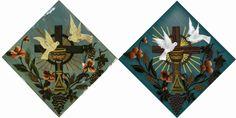 Quadro 4 - Quadros originais da Matriz de São Sebastião de Florânia-RN, reproduzidos em vetor, para impressão em qualquer tamanho. - 2014