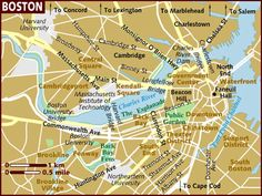 city of boston map - Bing Images