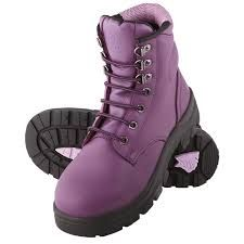 Steel Blue Argyle Ladies Work Steel Cap Boots Shoes Purple Leather New All Sizes Purple Love, All Things Purple, Shades Of Purple, Pink Purple, Lilac, Purple Stuff, Purple Baby, Deep Purple, Steel Cap Boots
