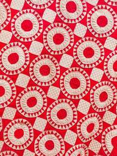 """""""Infinite Variety: Three Centuries of Red and White Quilts,"""" organized by the American Folk Art Museum, presents 650 red and white American quilts from the collection of Joanna S. Rose."""