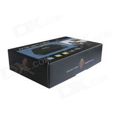 MXIII 4K Quad Core Android 4.4.2 Google TV Player w/ 2GB RAM, 8GB ROM, TF, Wi-Fi, HDMI - Black