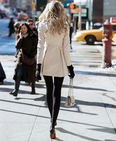 Casacos Inverno 2013 com meia-calça
