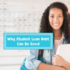 Getting out of student loan debt can be difficult, but having student loans isn't always bad. Here's why student loan debt can be good Apply For Student Loans, Federal Student Loans, Paying Off Student Loans, Student Loan Debt, Private Loans, Private Student Loan, Minnesota Colleges, Student Loan Repayment, Student Loan Forgiveness