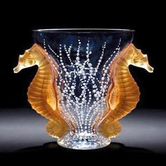 Poseidon Vase by Rene Lalique, 1920s