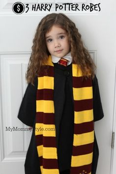 The easiest way to make harry potter robes! Why didn't I think of this sooner? #harrypotter