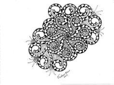 Swirls Drawing  - Swirls Fine Art Print