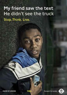 Think! Stop. Think. Live.