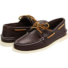 """Sperry Top-Sider: Authentic Original. I got a pair in """"Classic Brown"""" color. $79.95"""