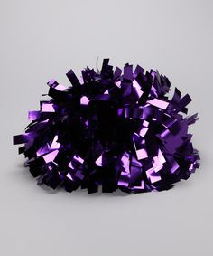 Take a look at this CheerZone Purple Metallic Pom-Pom by NFL Game Day: Kids' Apparel & Accents on today! Cheer Pom Poms, Cheerleading, Favorite Color, Kids Outfits, Amethyst, Metallic, Take That, Bows, Invitations