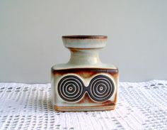 Small Vase by Soholm  Søholm  from 1960s Bornholm от DelicateRetro