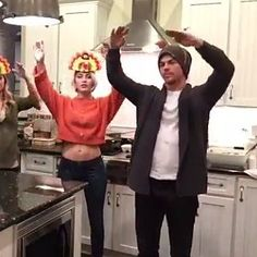 Julianne and Derek Hough Have a Thanksgiving Dance War You Need to Watch! I want to do this next Thanksgiving; Derek And Julianne Hough, Derek Hough, Hough Family, Thanksgiving Fashion, Bindi Irwin, Fitness Icon, Professional Dancers, Diana Ross, Dance Fashion