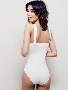 Sabrina Nait || FP Intimately Philo Bodysuit (Ivory)
