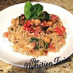 If you're looking for an easy-to-prepare dinner to help to squeeze some nutrients and fiber into your family, you've found your perfect match! Say hello to quinoa and chickpeas, both packed with protein and fiber - gotta love that! PluThis delicious dish is also a great way to introduce your kids to quinoa with the tomato-ey sauce.  Enjoy!Tip: This recipe serves two but we double the recipe to make enough for the entire family  Then we team it up with a side of steamed broccoli.I…