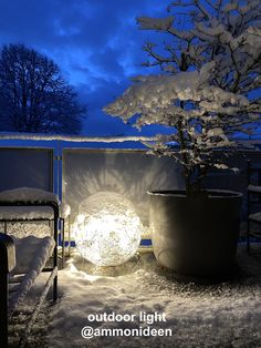fil de fer by catellani&smith Outdoor Lighting, Winter, Aquarium, Nice Asses, Ideas, Winter Time, Goldfish Bowl, Exterior Lighting, Fish Tank