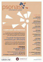 A Roma la campagna informativa nazionale - Psoriasi: informarsi è curarsi