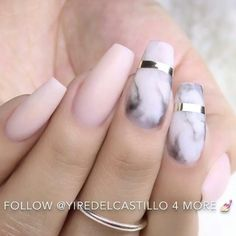 Ballerina Nails or Coffin Nails are a popular Manicure trend. Check out some of the best Ballerina Nail Art ideas and inspirations here. Gorgeous Nails, Love Nails, Pretty Nails, My Nails, Pale Pink Nails, Pink Nail Art, Nails Ideias, Uñas Fashion, Nail Arts