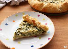 Torta+rustica+zucchine+e+robiola+senza+uova