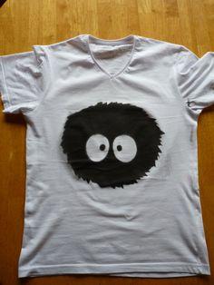 soot sprite - stenciled shirt