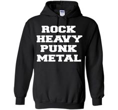 Rock, Heavy, Punk, Metal Music Quote T-Shirt