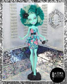 """Monster Doll Honey's Closet: """"Swamped Chic"""" high fashion outfit"""