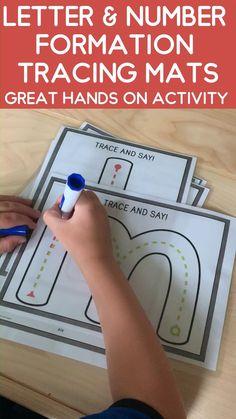 Kindergarten Learning, Preschool Learning Activities, Preschool Literacy Activities, Handwriting Activities, Letter Activities, E Mc2, Pre Writing, School Readiness, Learning Letters