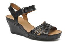 Clarks Rusty Wish (Marron) - Sandales et nu-pieds chez Sarenza (217418)