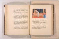 Théophile Gautier (1811 – 1872) : Le roman de la momie, 1858. Compositions de George Barbier (1882 – 1932), gravées sur bois par Gasperini. Paris: A & G Mornay, 2 v, col. ill.- woodcuts, 21 cm, c. 1929. [Pinned 7-vii-2015]
