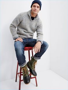 J.Crew Men's Holiday 2016 Campaign