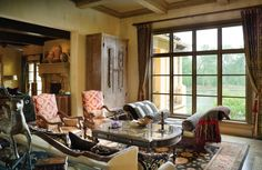 Our designs incorporate unique pieces that conjure worlds of long ago—elegant, regal rich in craftsmanship and deeply rooted in culture and tradition. Take a look at our online portfolio to see our projects in New Mexico projects and around the country: http://www.davidnaylorinteriors.com/portfolio/ #interiordesign