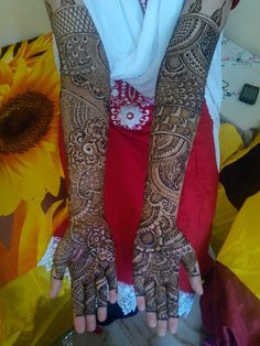 Bridal henna by sultanasami