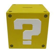 Super Mario Bros. Question Mark Coin Bank - Only £15!!