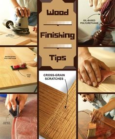 wood finishing tips - get a silky smooth finish on your next project