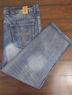 GS115 Melrose Slim Fit Premium Denim Men's Jeans Size 48 New With Tags #GS115 #SlimFit