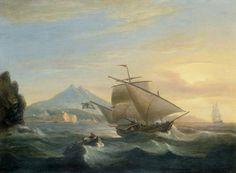 "T. Luny,  ""A Felucca"", 1825."