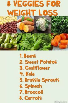 8 Veggies for Weight Loss