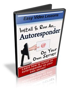 Install Autoresponder Videos + Free Script!! An Autoresponder is an essential service for internet business. cost can be an issue - so see how you can get one for free! Lead capture and follow up can be the determining factor between making big money and making no money.  How to install the script How to set up responders How to set up forms  How to use the back end processes How to set up the automation
