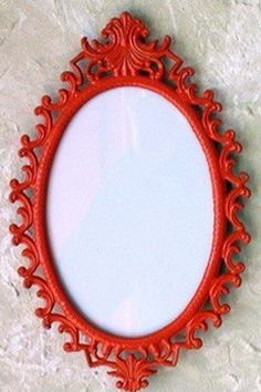 Red Mirror Very Cool