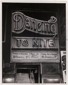 secretcinema1:    Dancing To Nite, c1940–50,Weegee